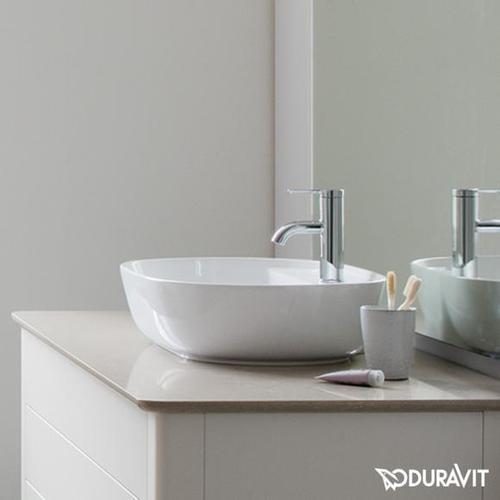 Duravit Luv Aufsatzwaschtisch B: 60 H: 13,5 T: 40 cm weiß 0380600000