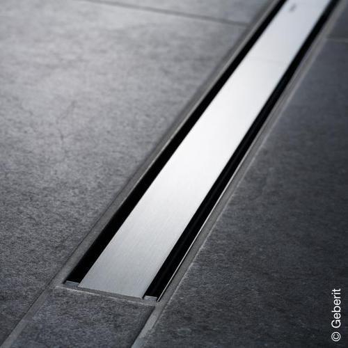 Geberit CleanLine 60 Duschrinne edelstahl dunkel / edelstahl gebürstet, für Duschrinne: 30 - 90 cm 154456001