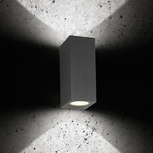 LCD 5035 LED Wandleuchte B: 6,2 H: 14,5 T: 8,2 cm, graphit 5035, EEK: A+