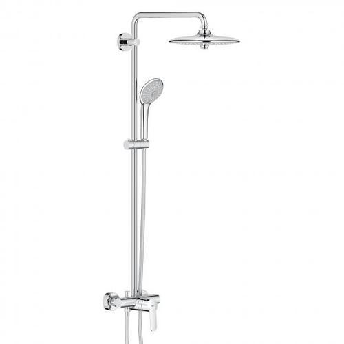 Grohe Euphoria System 260 Duschsystem mit Einhandmischer für Wandmontage, EcoJoy 27473001