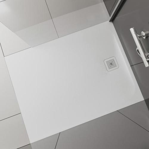 Laufen Pro Rechteck-Duschwanne L: 100 B: 80 H: 3,3 cm weiß matt H2109510000001