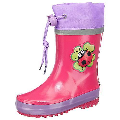 Kinder Gummistiefel Glückskäfer pink Mädchen Kinder