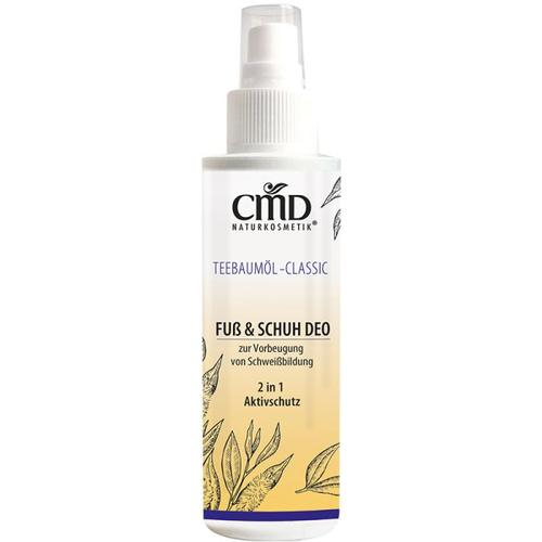 CMD Naturkosmetik Teebaumöl Fuss & Schuh Deo 100 ml Deodorant Spray