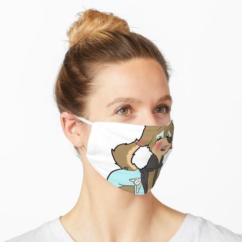 Blushy Crinkle Cub Maske