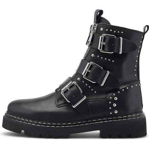 Another A, Nieten-Boots in schwarz, Boots für Damen Gr. 42