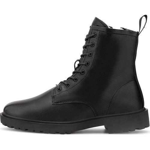 Blackstone, Schnür-Stiefelette Ul64 in schwarz, Boots für Damen Gr. 36