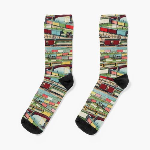 Antiker Zug Socken