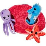 Frisco Hide and Seek Plush Coral Puzzle Dog Toy