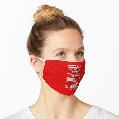 FEUERWEHRWAGEN Maske