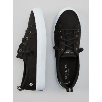 Women's Sperry Crest Vibe Sneaker, Black 6 Misses