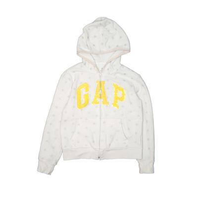 Gap Kids - Gap Kids Zip Up Hoodie: Ivory Tops - Size 13