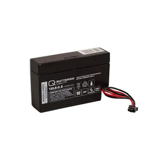 10x Q-Batteries 12LS-0.8 12V 0,8Ah AGM Blei-Vlies Akku Heim & Haus