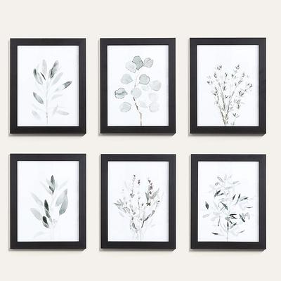 "Soft Sage Botanical Art 15"" x 12"" - Ballard Designs"
