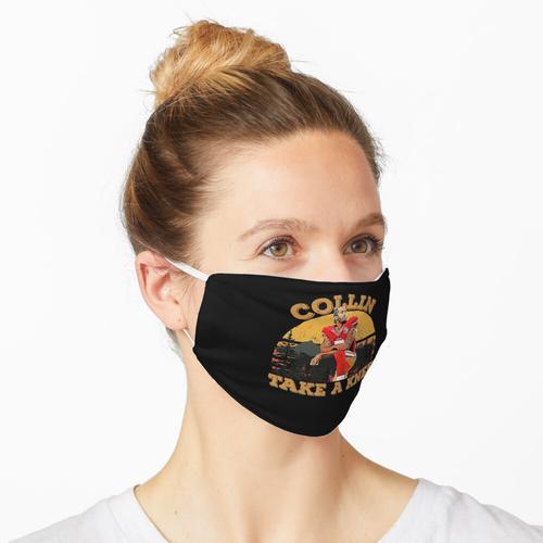 Colin Kaepernick knien Maske