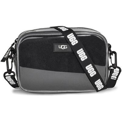 Janey Ii Clear Suede Handbags - Black - Ugg Shoulder Bags