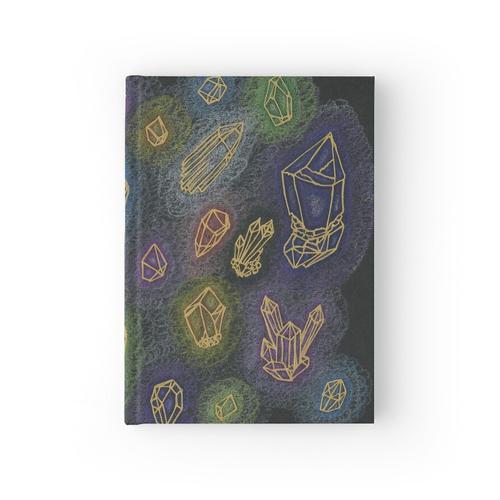 Kristallheilung Notizbuch