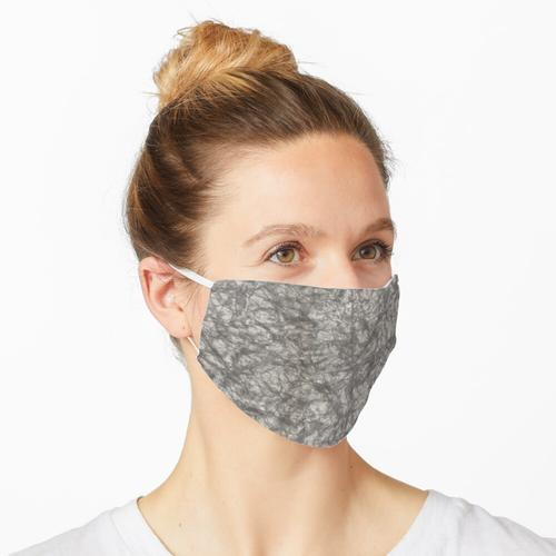 Zerknittertes Papier Maske