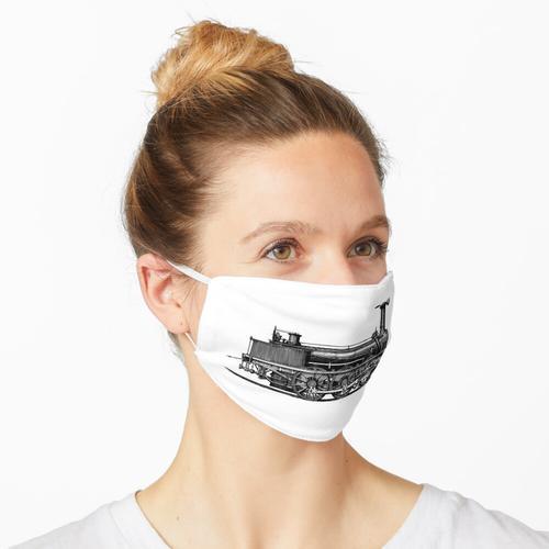 Dampfmaschine Maske