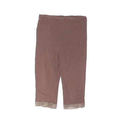 GB Girls Jeans - Mid/Reg Rise: Brown Bottoms - Size 120