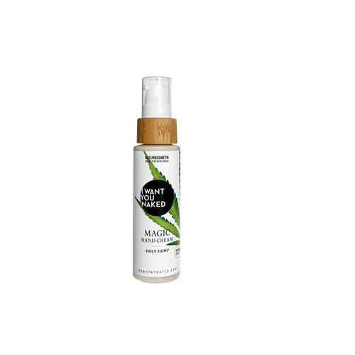 I Want You Naked Körperpflege Handcreme Aloe Vera Gel & Bio-Hanfsamenöl Magic Hand Cream Holy Hemp 50 ml