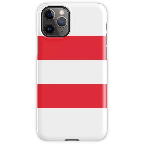 Oesterreichische Fahne - Österreichische Flagge - Österreich T-Shirt iPhone 11 Pro Handyhülle