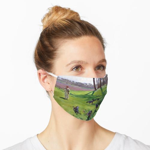 John Singer Sargent Landschaft mit Goatherd Maske