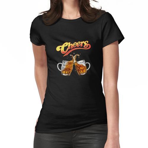 Prost und kaltes Bier Frauen T-Shirt