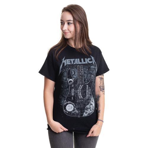Metallica - Hammett Ouija Guitar - - T-Shirts