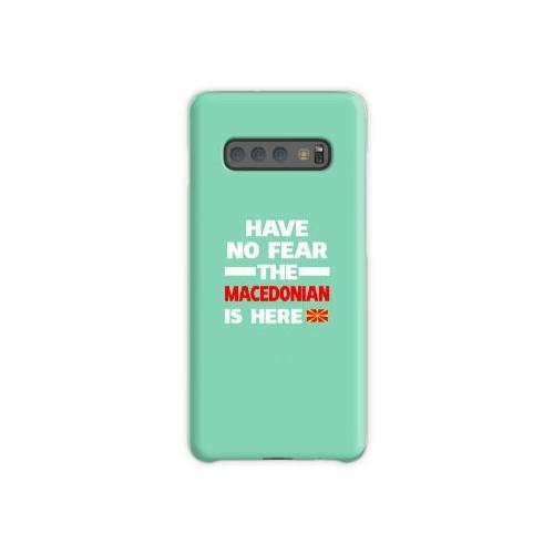 Mazedonien ist hier Mazedonien Stolz Samsung Galaxy S10 Plus Case