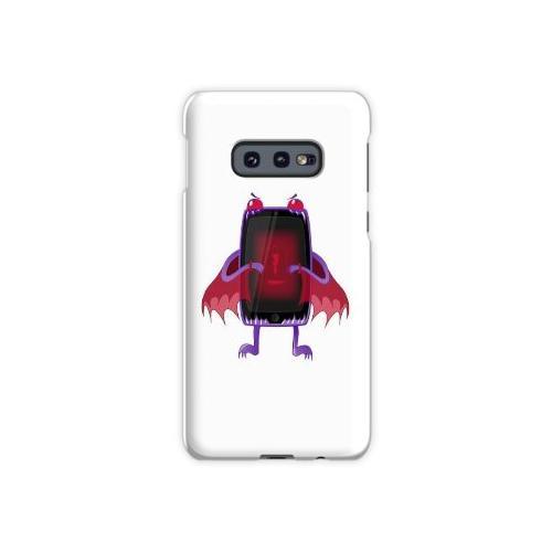 Niedrige Batterie Tablette. Samsung Galaxy S10e Case