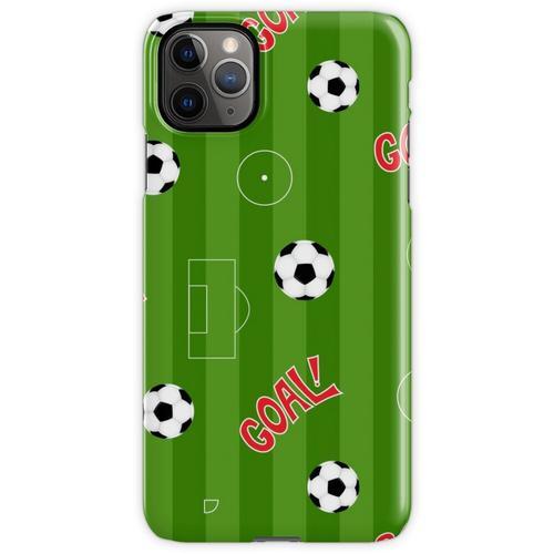 Fußballplatz | Fußballplatz und Fußbälle iPhone 11 Pro Max Handyhülle