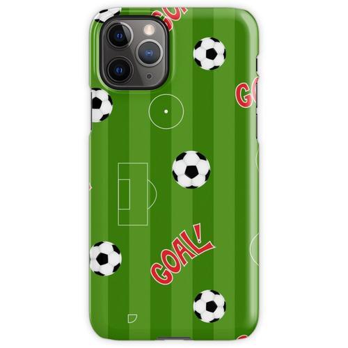 Fußballplatz | Fußballplatz und Fußbälle iPhone 11 Pro Handyhülle