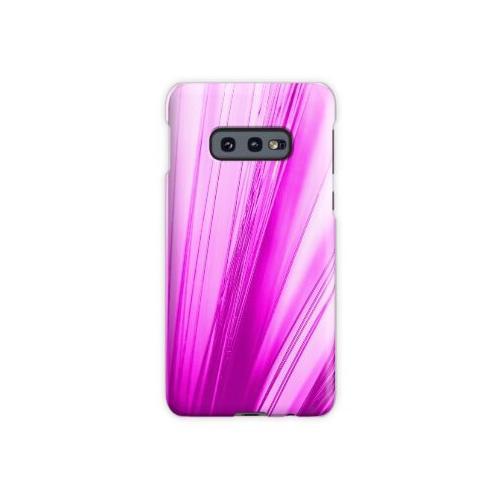 rosa Glasfaser Samsung Galaxy S10e Case