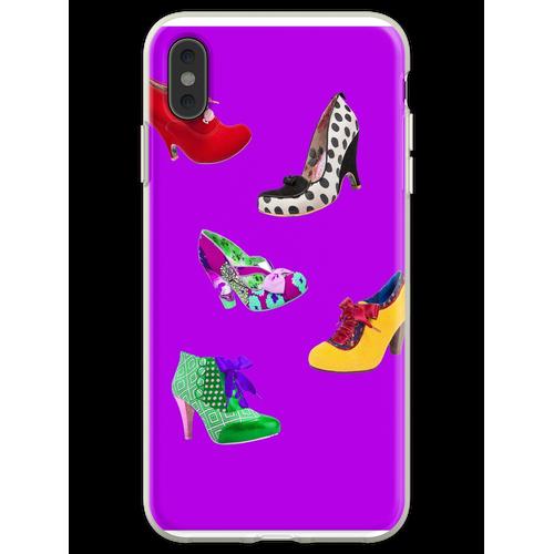 Schuhe, Schuhe, Schuhe, Schuhe! Flexible Hülle für iPhone XS Max