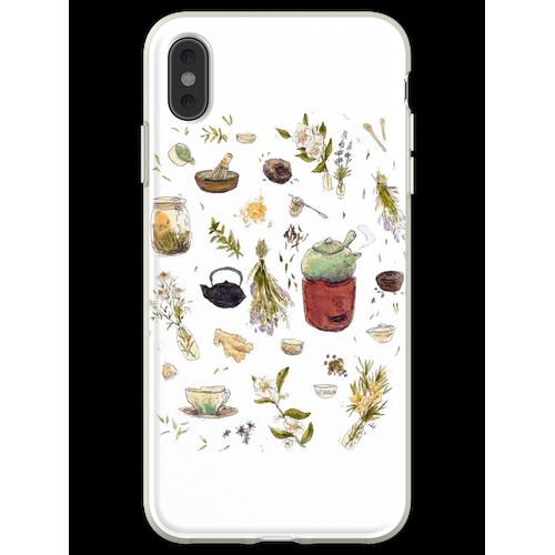 Tee Pflanzen - Willow's Tea Collection Flexible Hülle für iPhone XS Max