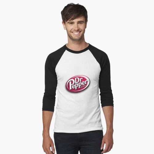 Dr. Pfeffer-Logo Baseballshirt mit 3/4-Arm