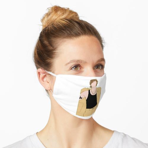 Luke Hemmings gelber Anzug Maske