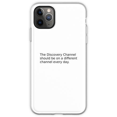 Kabelfernsehen Flexible Hülle für iPhone 11 Pro Max