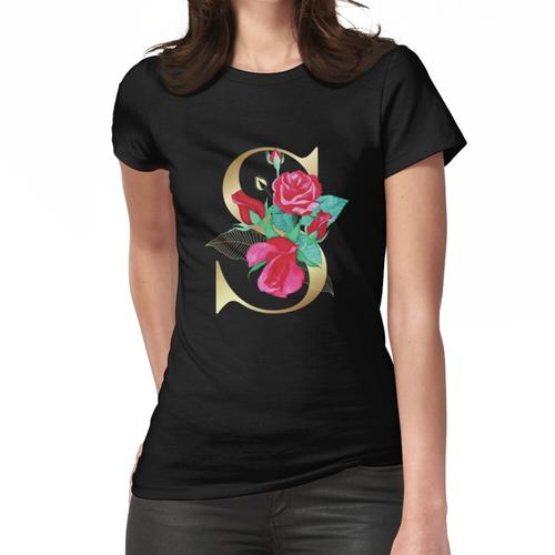 S ist für Skoliose Frauen T-Shirt