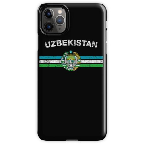 Usbekisches oder Usbekistanisches Flaggen-Hemd - Usbek- oder Usbekistan iPhone 11 Pro Max Handyhülle