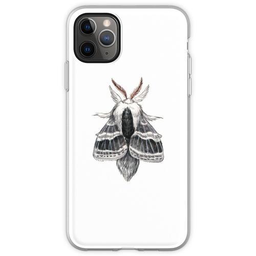 Große Tolype Motte (Tolype velleda) Flexible Hülle für iPhone 11 Pro Max