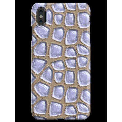 Es gibt Glasbausteine im Sand. iPhone XS Max Handyhülle