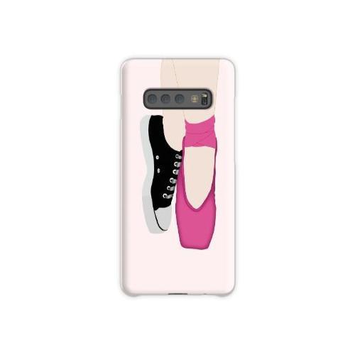 Ballerina Pointe Schuhe + Converse Samsung Galaxy S10 Plus Case