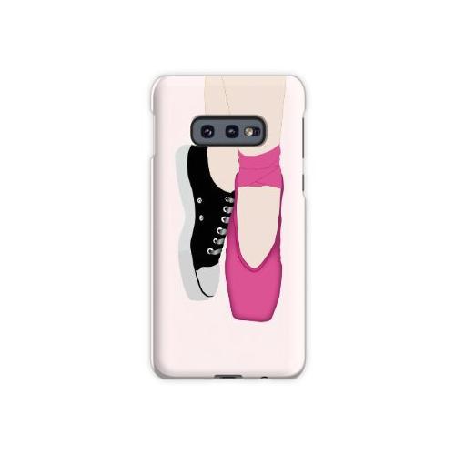 Ballerina Pointe Schuhe + Converse Samsung Galaxy S10e Case