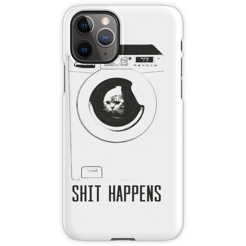 Katze in der Waschmaschine iPhone 11 Pro Handyhülle