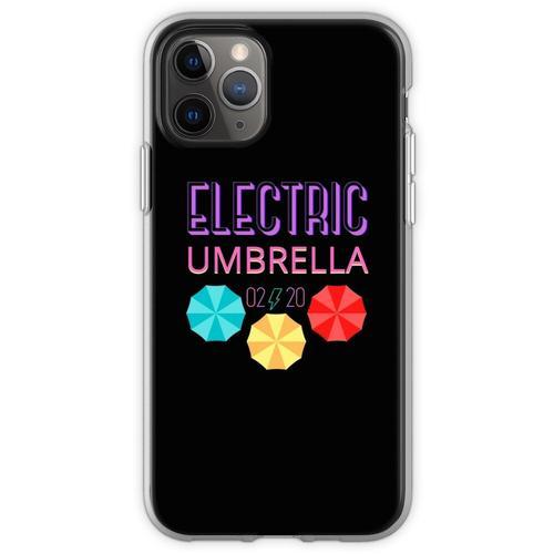 Elektrischer Regenschirm Flexible Hülle für iPhone 11 Pro