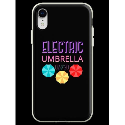 Elektrischer Regenschirm Flexible Hülle für iPhone XR