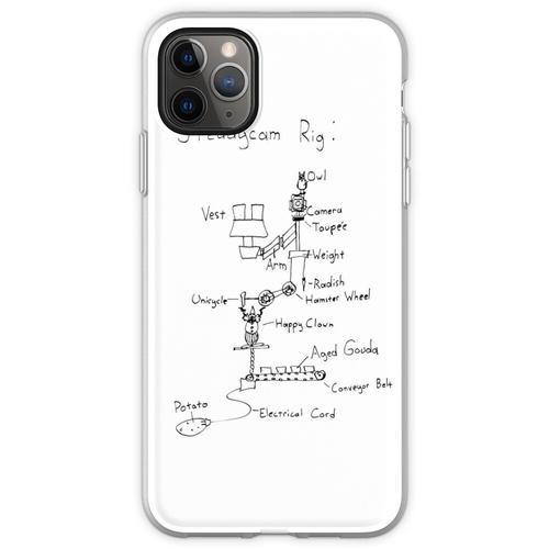 Steadycam-Diagramm Flexible Hülle für iPhone 11 Pro Max