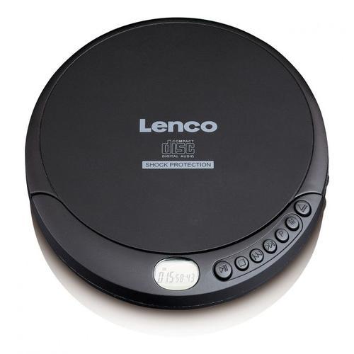 Lenco CD-200 CD-Player Tragbarer CD-Player Schwarz