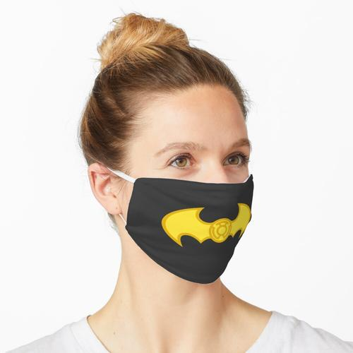 Kopie der Fledermauslaterne gelb Maske